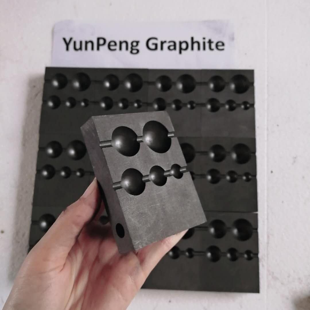 High pure Special-shaped graphite mold/mould for metal ingot casting glass jewelry