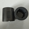 Graphite thrust bearings with thread